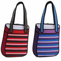 2014 New Designed Women 3D Jump Style Comic Handbag 2D Drawing Canvas Shoulder Bag Cartoon Paper Bag Novely Gismo Casual Totes