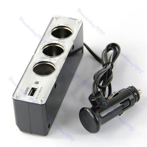 Прикуриватель в авто USB