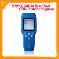 Oil Reset Tool X-200 Oil Reset / Engine oil light reset X200 OBD2 Auto Code Reader OBD-II engine diagnosis