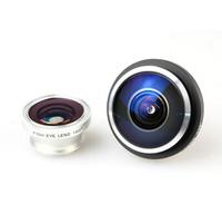 Universal Clip Super 235 Detachable Fisheye Fish eye Lens Mobile Phone Lens For All Phones iPhone 4S 5S 5C 5 Samsung S3 S4