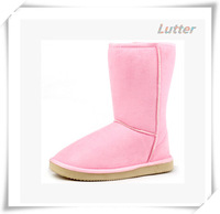 2014 Hot Sale Winter Fashion 10inch Height Fashion Winter Waterproof Shoes And Warm Women Pink Snow Boots Free Shipping