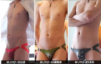 Free Shipping 3010-SD 5pcs/Lot   Mens Sexy Swimming trunks Low-waist cotton  Pirate Print Briefs 4sizes S M L XL