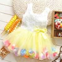 2014 Summer Hot sell kids dress kids wear girls'Princess dress kids clothing Dresses
