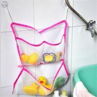 2014 New Foldable Mini Storage Bags/Practical Bathroom Using Children Bath Toys Storage/Portable Storage Bags
