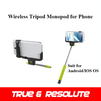 Hot Selling Wireless Selfie Tripod Professional Go pro Monopod For Above Android 3.0 IOS 4.0 OS Phone Self Timer Z07-5