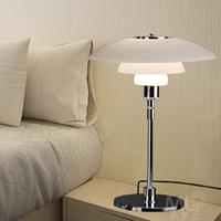 PH3 modern IKEA novelty hotel project book room bedroom glass table lamp light desk lamp light