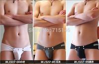 5pcs/Lot   Fashion Mens Sexy  Low-waist   Pirate Print Briefs Boys Swimming trunks  Swimwears Spandex  8colors 3010-XSJ