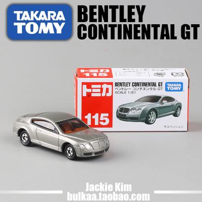 2014 NEW free shipping!! T.O.M.Y hot alloy models car toys police car audi truck beatles car ambulance 115 bentley GT(China (Mainland))