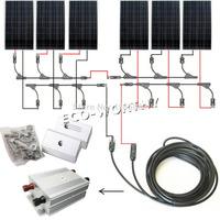 EU stock 900Watts COMPLETE KIT: 6x150W mono PV Solar cell Panel 24V solar system RV Boat * no taxis no duty