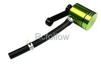 Universal Brake Fluid Green Reservoir Fit For Suzuki GSXR 600 750 1000 1300 GSF