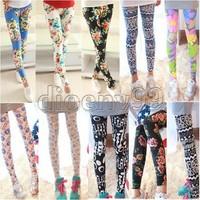 2014 Summer Korean Fashion Leggings Milk Silk Printed Pants Leggings leggings
