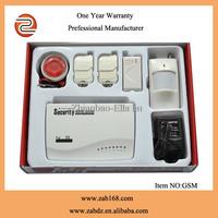 ZAB-G11,New type wireless multi-function,GSM  system alarm ,with door sensor,PIR motion sensor and sensor host