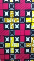 2014 Free shipping !    New arrival african super wax  cotton hollandais  wax fabric  LFSW004
