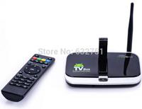 CS918S T-R42 MK888 Android 4.2 TV Box 1G/8G A31S Quad Core Mini PC RJ-45 USB WiFi Antenna Smart TV Media Player Remote Bluetooth