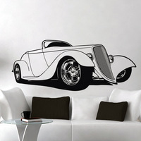 [Black White] Free shipping drop shipping Wall stickers Wall decal Wall paper  PVC stickers Car C-1620