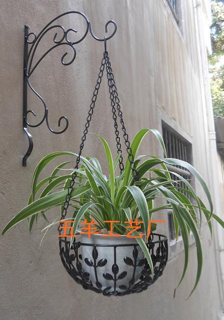 Hanging basket shelves : ... flower pot rack basket hanging shelf(china (mainland