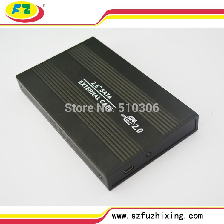Free Shipping 2.5 Laptop HDD Caddy to 1TB SATA External Hard Drive Box Serial ATA HDD Protect Case(China (Mainland))