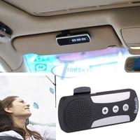 Wireless Bluetooth Speakerphone Car Speaker Kit+Car Charger Visor Clip Bluetooth Handsfree Kit Kit de Coche Bluetooth Y2064