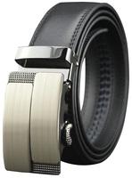 Men Genuine Leather belts Second Layer Cowskin Brand designer Fashion Automatic buckle Cintos Cinturon MZ030 New arrival