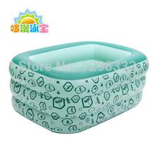 2014 esportes do verão 3 círculos alta qualidade para bebés crianças inflável piscina para adultos banheira baby piscinas de água(China (Mainland))