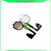 1pcs For Iphone 4 4G Home Menu Button Flex Cable Free Shipping By HK Post without track
