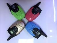 2014 Hot Sales 2 PCS Portable Wireless Walkie-talkie Set 14 Channel Two Way Radio Intercom for Lovers 3KM Travel freeshipping