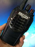 Black Walkie-Talkie UYIBAI U318 UHF 400-470MHz 16CH 8W FM Radio Monitor Scan High Capacity Battery Two Way Radio