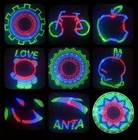 48 pcs RGB LED 2 x Bicycle Bike Tire Wheel Flash Light Support DIY Design and screwdriver LED Bike Light
