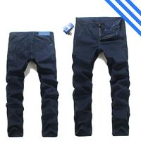 2014/7/4 Best Men's Clothing Men's Jeans GCA3801A Mid-Rise Fashion Solid Straight Jeans Men