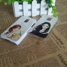hot new product for 2015 DIY sublimation heat transfer plastic case cover for samsung galaxy S5 mini