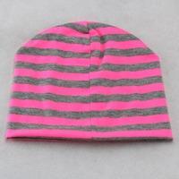 New style wholesale fashion baby hat Stripe hat baby bear hat infant hat infant cap headress children cap 2 color Free shippipng
