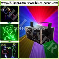 2W RGB full color laser light TTL modulation laser show system for outdoor laser system