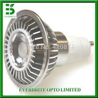 7W LED AR70 GU10 85-265v 500lm LED spot light 30 degree with CE RoHS for home lighting