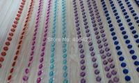 Multicolor Crystal room partition real photos acrylic octagon bead curtain Chandelier wedding Crystal tree decoration 15m/lot