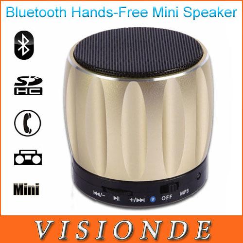 2014 mini speaker bluetooth di telefonia mobile vivavoce con microfono fm mini radio wileress altoparlanti bluetooth speaker metallo d93