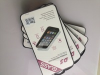 For iphone 5s Protector Premium Tempered Glass Screen Protective Film For iPhone5 5S With Retail Package