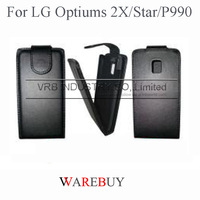 Hot classic flip full protect Leather phone Cases For LG optiums 2X Star P990 EXW wholesale DHL Fedex UPS drop shipping