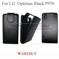 Hot classic flip full protect Leather phone Cases For LG Optimus Black P970 EXW wholesale DHL Fedex UPS drop shipping