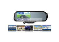 Android 5 Inch Full HD720P Bluetooth Rearview Mirror Car DVR  LS600B with GPS Navigation+Built-in 8GB