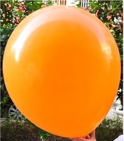 L-09 orange color   36 inch 25g/pcs New arrival Inflable Ball Ballon Wedding Party And Birthday Decoration Pearl Balloon