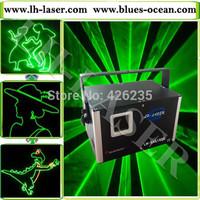 1 W single green animation laser light, lazer light, single green holiday Christmas laser light