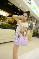 2014 women's handbag messenger bag female wax oil leather vintage casual all-match small bag