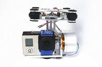 DJI Phantom Gopro 2 3 Airy GLB Brushless Camera Gimbal with Motors & Controller