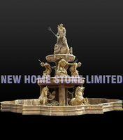 roman sculpture horse carving large garden fountains decoration