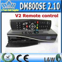 New Model! 1pc DM800se Decoder DM800HD SE BCM4505 Tuner sim2.10 with V2 Remote Control  Free Shipping