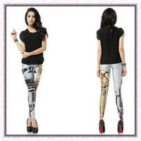 Slim skinny pants pencil pants trousers personality female fashion high quality leggings