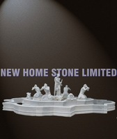 Roman figure sculpture 100% hand carving marble statues manufacturers