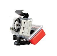 Stock Gopro Camera accessories Floaty Float Box With 3M Adhesive Anti Sink for GoPro HD Hero Hero2 Hero3 SJ4000 AS-15 AEE Camera