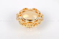2pcs 42mm Single Hole Golden Luxury European Style Drawer Cabinet Door Puckering Small Handle