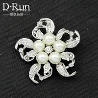Wholesale Gift Fashion Cheap Jewelry Rhinestone Brooches For Wedding Crystal Brooch Pins --Aa035
